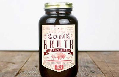 Bottled bone broth