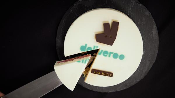 Deliveroo cake