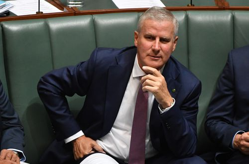 Veterans Affairs Minister Michael McCormack is the favourite to replace Mr Joyce (AAP)