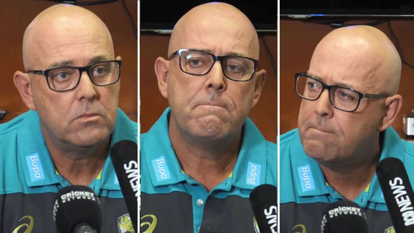 Emotional Australian coach Darren Lehmann tears up over ball tampering scandal before vowing change
