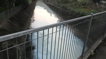 Campsie River canal