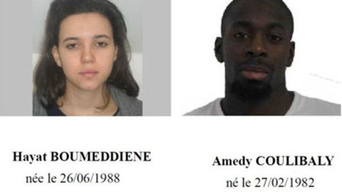 Amedy Coulibaly and Hayat Boumeddiene.