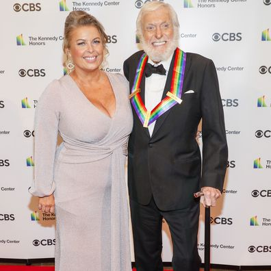 Arlene Silver and Dick Van Dyke attend the 43rd Annual Kennedy Center Honors at The Kennedy Center on May 21, 2021 in Washington, DC.
