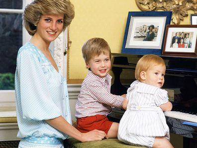 Princess Diana names Harry William