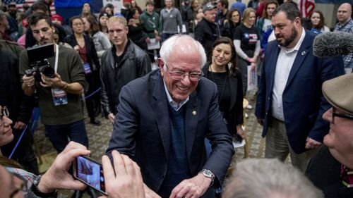 Bernie Sanders' poll numbers have been on the rise in recent weeks.