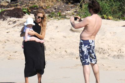 Rachel Zoe enjoyed some time out with the fam in St Barts