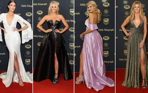 NRL partners score fashion goals at Dally M Awards