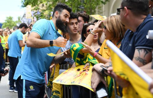 The Socceroos will kick off their World Cup campaign against France tonight. (AAP)