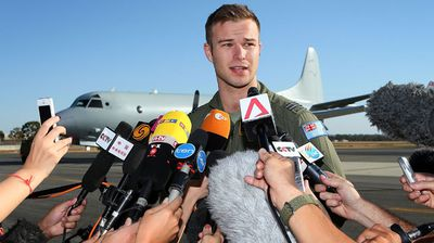 "<b>Royal Australian Air Force pilot Captain Russell Adams</b><br> Media outlets around the world attracted criticism in March when they reported that people had ""fallen in love"" with ""Aussie hunk"" Russell Adams, an Air Force Flight Lieutenant providing updates on the search for missing Malaysia Airlines flight MH370. The commentary on his ""instant internet celebrity"" was slammed as insensitive given the tragic reason for his public appearance. (Getty)"