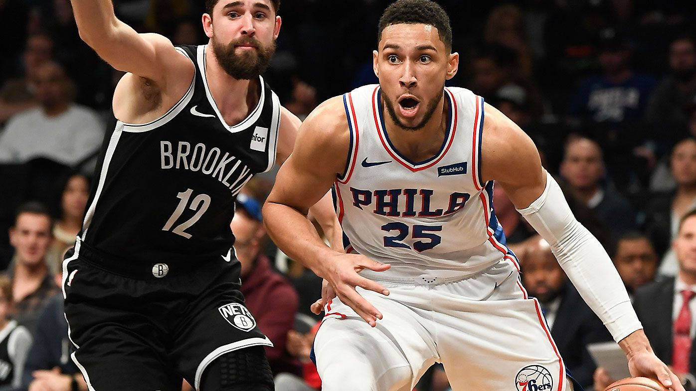 Ben Simmons mocked by fans as 'soft' Philadelphia 76ers get a hiding on the road