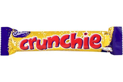 Crunchie (50g): 223 calories/931kj