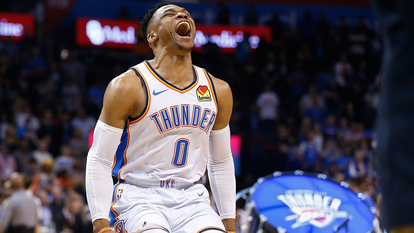 Russell Westbrook matches 51-year-old Wilt Chamberlain NBA record