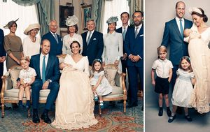 Duke and Duchess of Cambridge release Prince Louis' official christening photos
