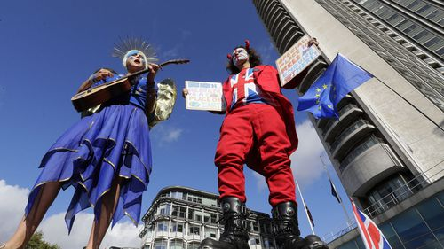 Brexit protests 2