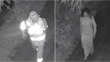 Detectives have released video of a man and woman they want to speak to about the alleged indecent assault of a girl in Sydney's west last month.
