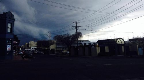 Storm clouds gathering in Geelong, Victoria. (Andrew Lund/9NEWS)