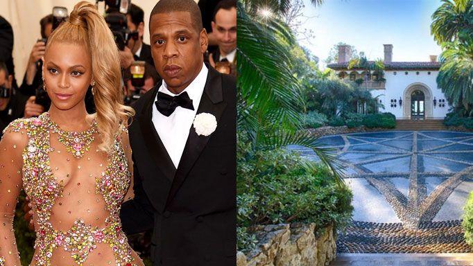Beyonce Jay Z twins home