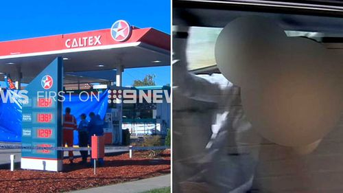 Mr Akbar was allegedly stabbed to death in April at the service station he worked at. (9NEWS)