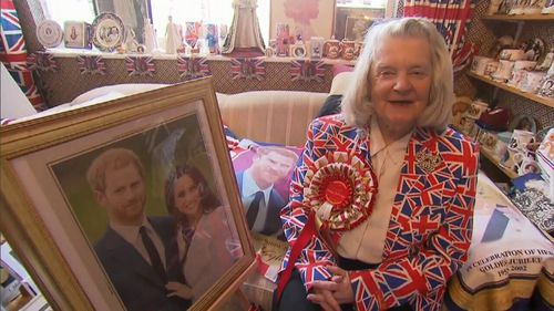 Margaret Tyler, 74, has built a collection of royal memorabilia worth $71,000.