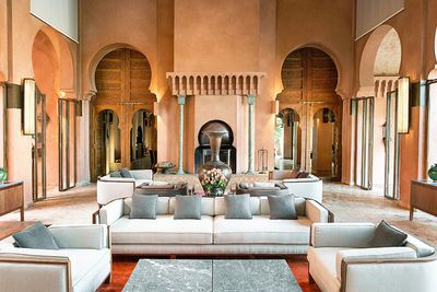 <strong>Amanjena resort, Marrakesh, Morocco</strong>