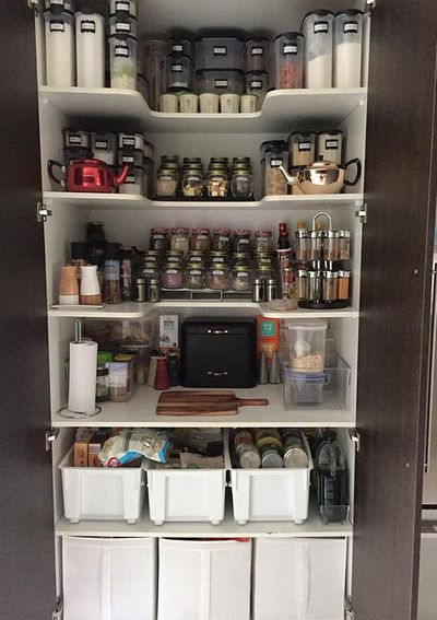 Pantry Organisation Mum Reveals Technique For Perfect Kitchen Cupboards
