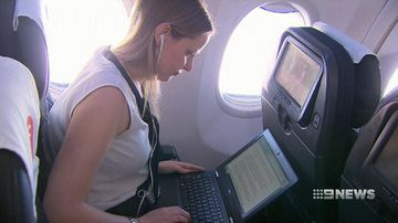 VIDEO: Qantas launches inflight WiFi