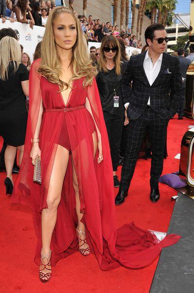 Jennifer Lopez in Donna Karen at the 2014 Billboard Music Awards in Las Vegas, May, 2014
