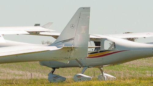 Light plane WA stock image