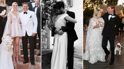 0d59b327c84 Celebrity weddings 2018  All the stars who got married this year
