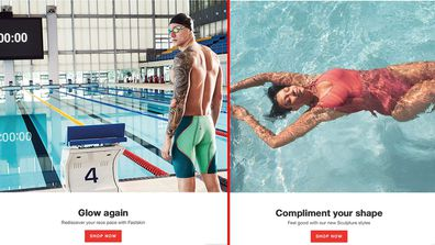 Speedos slammed for 'sexist' website campaign