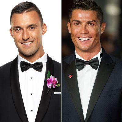 Nic and Cristiano Ronaldo