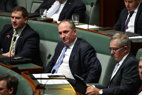 Mr Joyce quit as deputy Prime Minister in February.