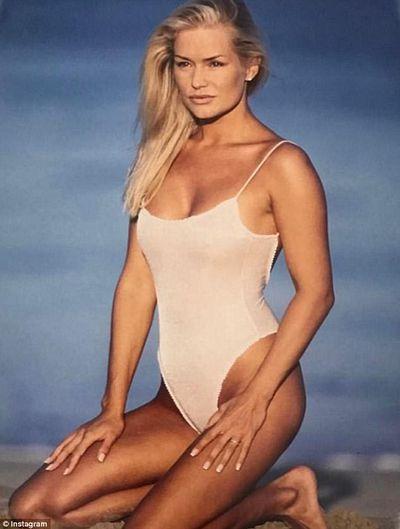 Yolanda Hadid in 1996