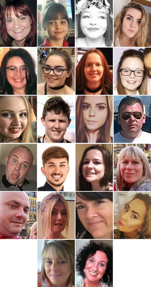 Abedi killed 22 people in the Manchester Arena attack.