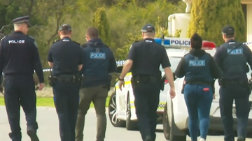Three shots have been fired at an Adelaide property this morning, sparking concerns of an escalating bikie war.