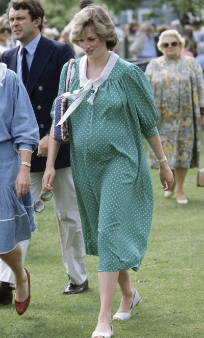 Royal pregnancies: Princess Diana