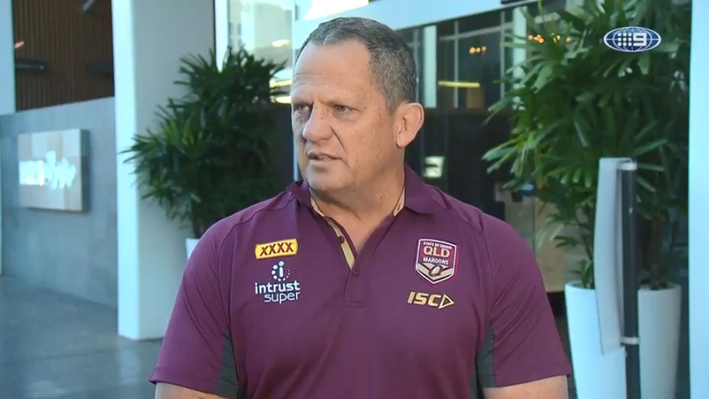 Queensland assistant coach Steve Walters receives reminder he's in enemy territory for Origin II