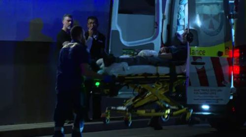 The teenager was with his brother and a friend in the carpark of a Balmain Woolworths when the incident occurred. Picture: 9NEWS.