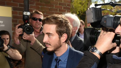Australian actor Ryan Corr pleads guilty to drug possession