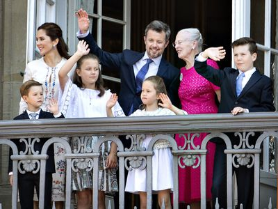 Princess Mary and family