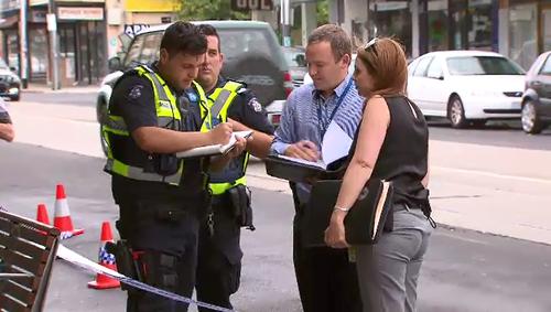 Police investigate after 60 handguns were stolen. (9NEWS)