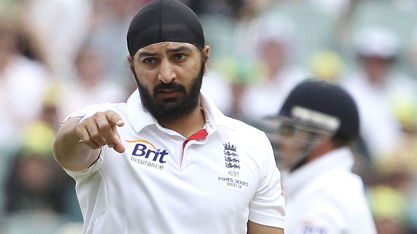 England cricket bowler Monty Panesar in 2013