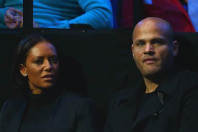 """Stephen took to Twitter to dispel the rumours: """"I don't usually respond to Twitter msgs but I will respond to comments of hitting my wife which I think are quite disgusting untrue.<br/>""""Mel was very ill a bunch of doctors helped her get better if fans can't just relax B4 being negative they r not real fans of @OfficialMelB.<br/><br/>Meanwhile, Mel's mum tweeted about having a """"large glass of wine"""" to celebrate Mel being back on TV, adding, """"I'm still bloody crying feel sooo stupid. Poor Melanie looks poorly!!"""""""