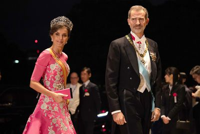Queen Letizia in Japan, October 2019