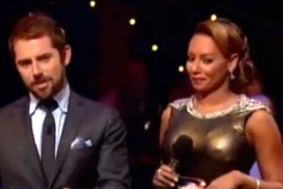 Mel B made a similar wardrobe faux-pas earlier in the year, with Daniel MacPherson joking that her right nipple was trending globally on Twitter. All class, Dan!