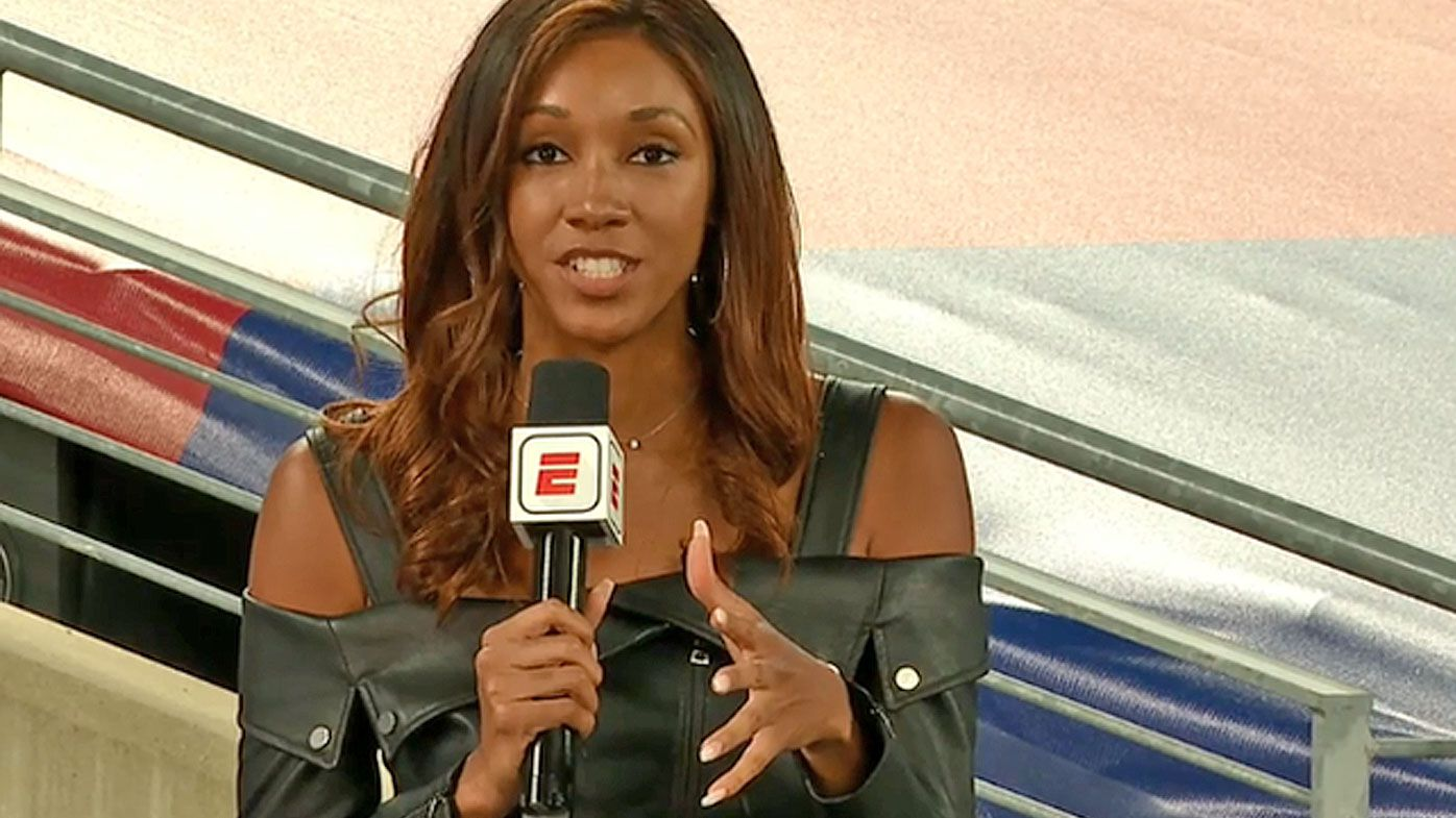 Radio host fired after 'degrading' attack at female ESPN reporter Maria Taylor