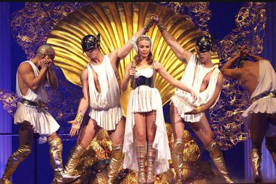 <i>Aphrodite: Les Folies</i> tour (2011)<br/><br/>Image: Splash