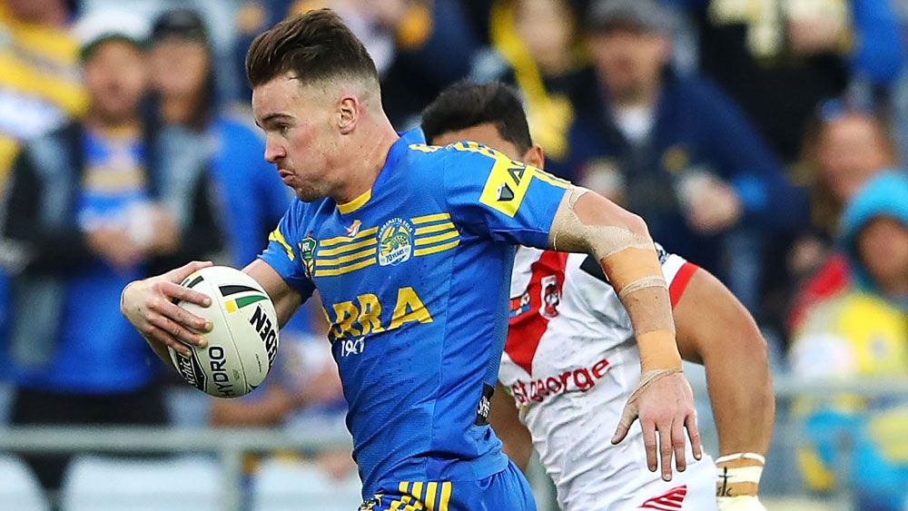 Parramatta Eels finally find NRL backline answer after Clinton Gutherson shifts to fullback