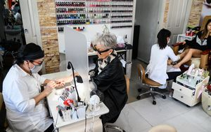 Beauty, nail salon spending surges as Aussies rush back to parlours