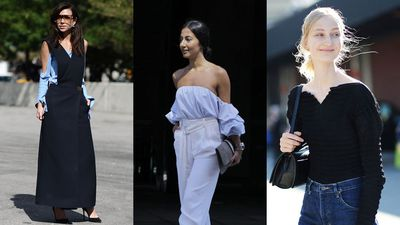 """This spring, get your <a href=""""http://honey.ninemsn.com.au/2015/09/18/14/21/how-to-give-good-shoulder-this-summer"""" target=""""_blank"""">décolletage beauty routine in check</a>, then give the not-so-cold shoulder in one of these on-trend tops or dresses."""